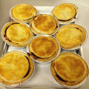 Homemade Steak & Gravy Pies