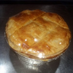 Chicken and Ham Hough Pie