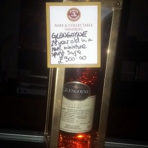 Glengoyne 28yr Old in Rare Spirit Safe
