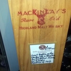 McKinley's Shackleton Replica Malt Whisky