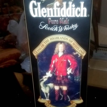 Glenfiddich Clansman Malt Whisky - Original Tin