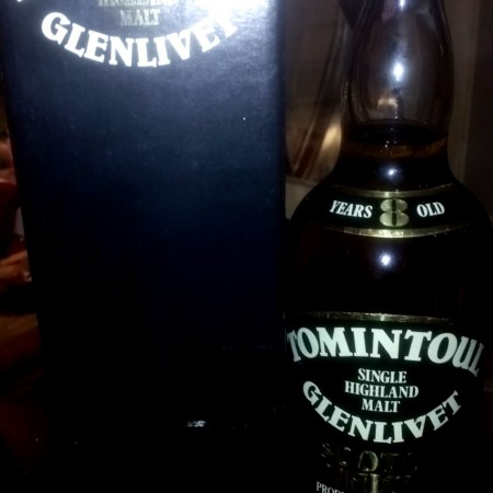 Glenlivet Tomintoul 8 Year Old Malt Whisky